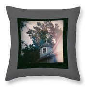 Multiple Exposures Throw Pillow