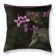 Multiples In Bloom Throw Pillow