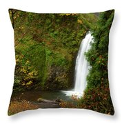 Multnomah Autumn Throw Pillow