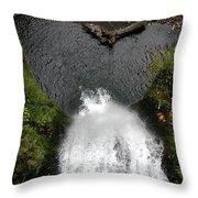Multnomah Falls - 4 Throw Pillow