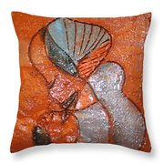 Mum 1 - Tile Throw Pillow