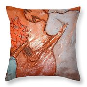 Mum 2 - Tile Throw Pillow