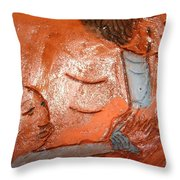 Mum 6  - Tile Throw Pillow