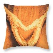 Mummies Love Halloween Throw Pillow