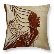 Mums Babe - Tile Throw Pillow