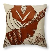 Mums Gal - Tile Throw Pillow