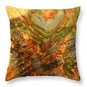 Mums Handful - Tile Throw Pillow