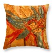 Mums Little Cygnet - Tile Throw Pillow