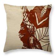 Mums Love - Tile Throw Pillow
