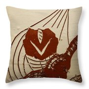 Mums Sweetheart - Tile Throw Pillow