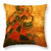 Mums Warmth - Tile Throw Pillow
