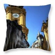 Munchen Lion  Throw Pillow
