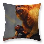 Munchin  Throw Pillow