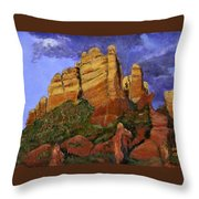 Munds Mountain Throw Pillow