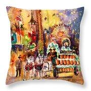 Munich Authentic Throw Pillow