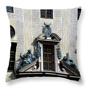 Munich Detail 18 Throw Pillow
