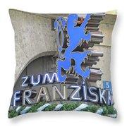 Munich Detail 2 Throw Pillow