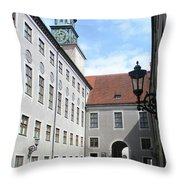 Munich Detail 8 Throw Pillow