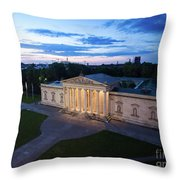 Munich - Glypthothek  Throw Pillow