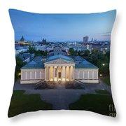 Munich Koenigsplatz Impressions Throw Pillow