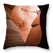 Mupltiple Openings Throw Pillow
