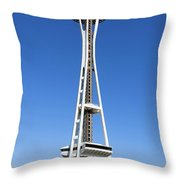 Mural And Tower Throw Pillow