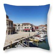 Murano Italy Throw Pillow