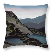 Muratova Chuka, Pirin Mountain Throw Pillow