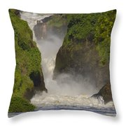 Murchison Falls, Uganda Throw Pillow