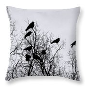 Murder On Music Row Throw Pillow
