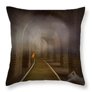 Murder She Wrote Throw Pillow
