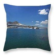 Muriel Lake Throw Pillow
