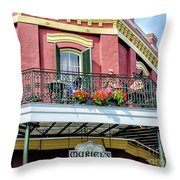 Muriels On The Square _ Nola Throw Pillow