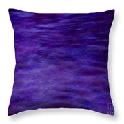 Murky Vision Of Fear Throw Pillow