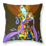 Murlimanohar Shyaam Throw Pillow