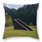 Murou Sculpture Throw Pillow