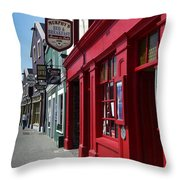 Murphys Bed And Breakfast Dingle Ireland Throw Pillow