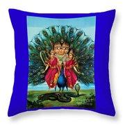 Murugan Throw Pillow