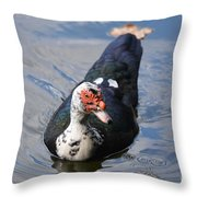 Muscovy 16-07 Throw Pillow