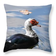 Muscovy Magic 2 Throw Pillow