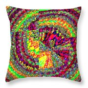 Muse 23 Throw Pillow
