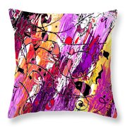 Muse Fragments Throw Pillow
