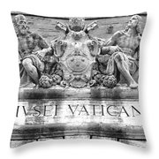 Musei Vaticani Throw Pillow