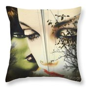 Muses Throw Pillow