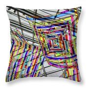 Museum Atrium Art #2 Throw Pillow