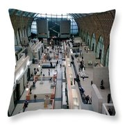 Museum D'orsay Paris Throw Pillow
