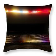 Museum Lights Throw Pillow