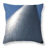 Museum Of Glass 3 Throw Pillow