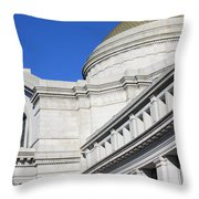 Museum Of Natural History Throw Pillow