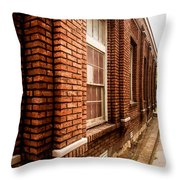 Museum Side 1 Throw Pillow